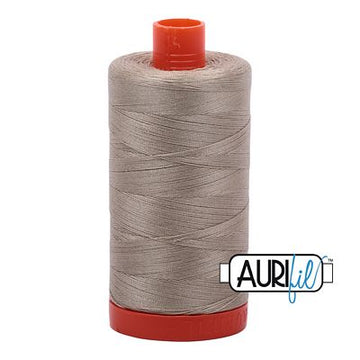 Aurifil Thread 50wt Stone