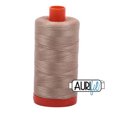 Aurifil Cotton 50 Weight Sand