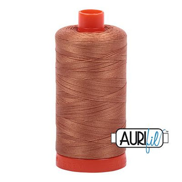 Aurifil Thread 50wt Light Chestnut
