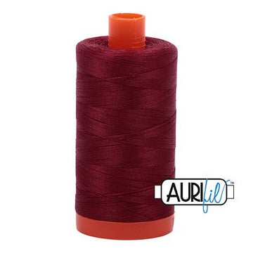 Aurifil Thread 50wt Dark Carmine Red
