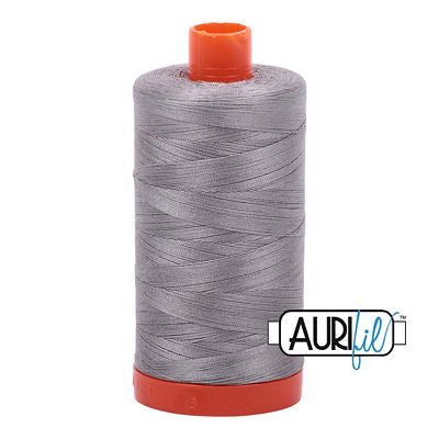 Aurifil Thread 50wt Stainless Steel
