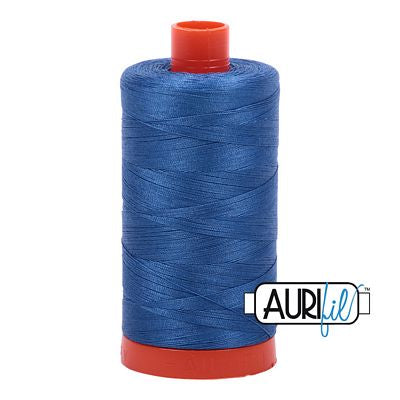 Aurifil Thread 50wt Delft Blue