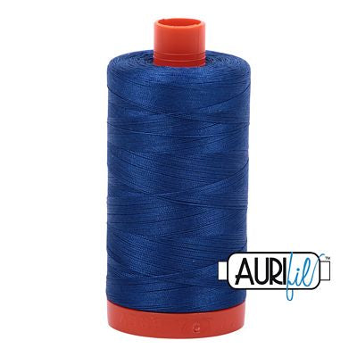 Aurifil Thread 50wt Dark Cobalt