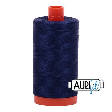 Aurifil Thread 50wt Midnight