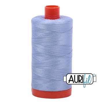 Aurifil Thread 50wt Very Light Delft Blue