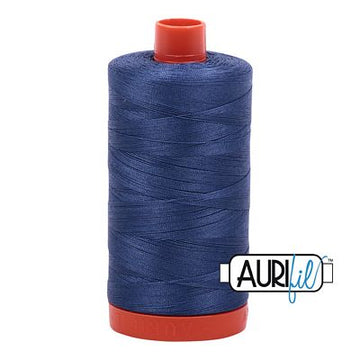 Aurifil Thread 50wt Steel Blue