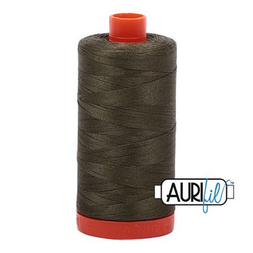 Aurifil Thread 50wt Army Green