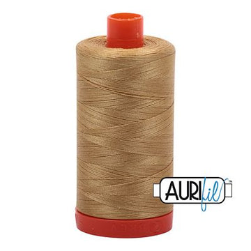 Aurifil Thread 50wt Light Brass