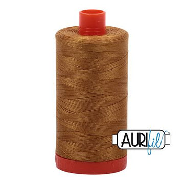 Aurifil Thread 50wt Brass