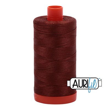 Aurifil Thread 50wt Copper Brown