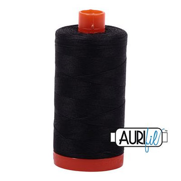 Aurifil Thread 50wt Very Dark Gray