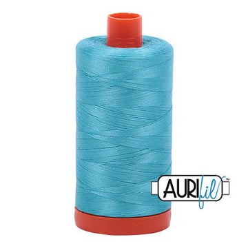 Aurifil Thread 50wt Bright Turquoise