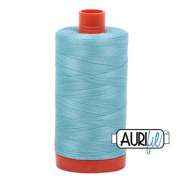 Aurifil Thread 50wt Light Turquoise