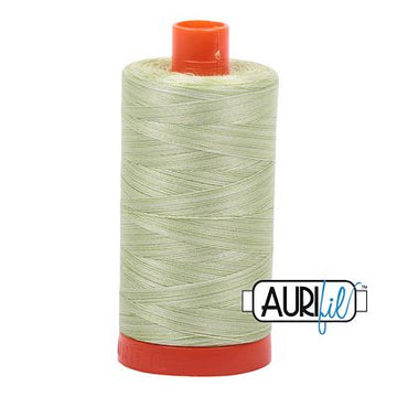 Aurifil Variegated Thread 50wt Spring Green