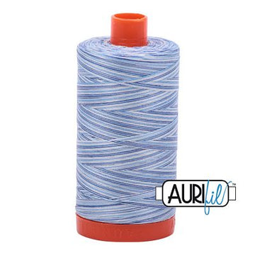 Aurifil Variegated Thread 50wt Storm at Sea