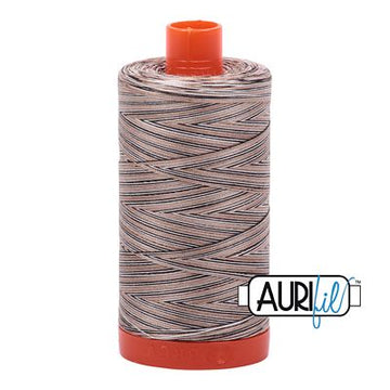 Aurifil Variegated Thread 50wt Nutty Nougat