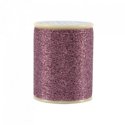 Razzle Dazzle Metallic Thread: TICKLED PINK
