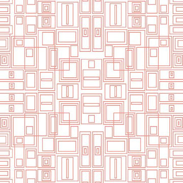 Good Vibes: Circuit Board Coral/White