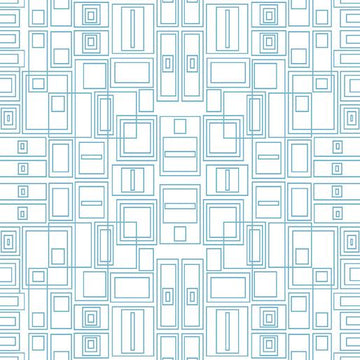 Good Vibes: Circuit Board Turquoise/White