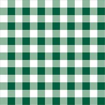Warp and Weft Holiday- Checkerboard Evergreen