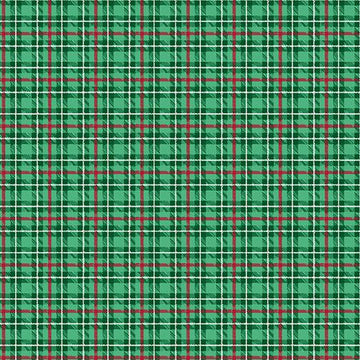 Warp and Weft Holiday- Multi Plaid Holly