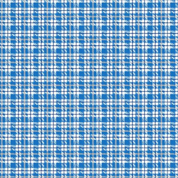 Warp and Weft Holiday- Multi Plaid Glacier