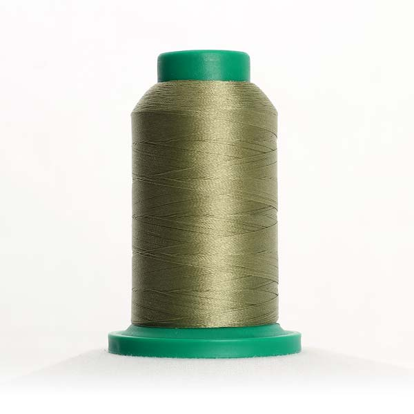 Isacord 1000m Polyester - Army Drab