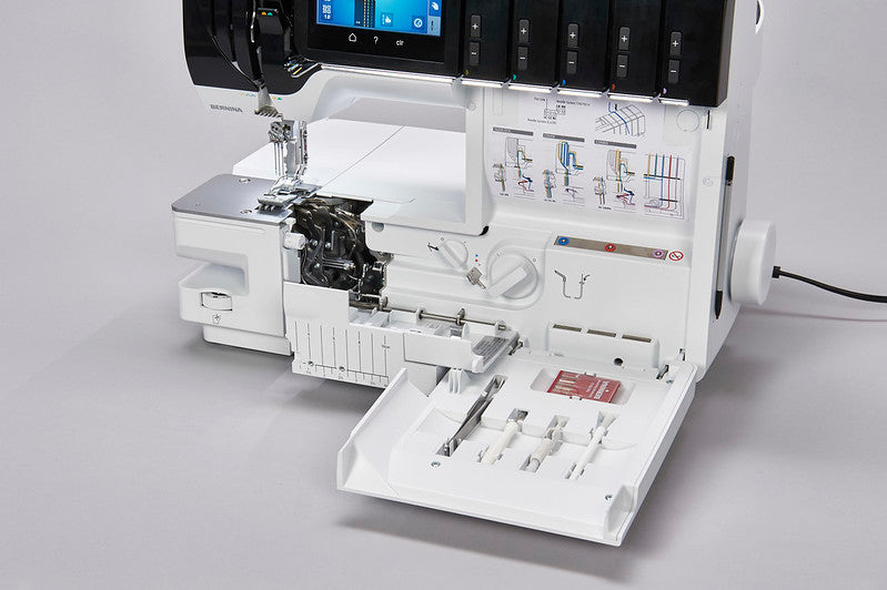 BERNINA L 890 Introduction - ONLINE OVERVIEW