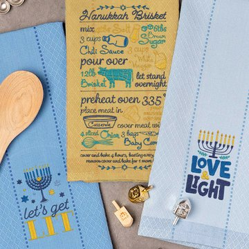Love You Latke Embroidery Design CD