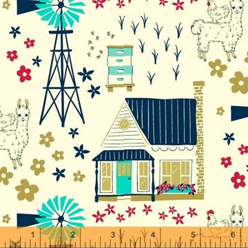 Homestead Life: Homestead Vignette in Happy Day