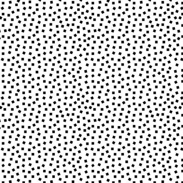 Square Dots White