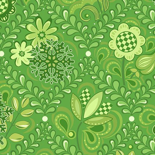 Amanda Murphy: First Frost Damask Green