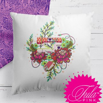 Tula Pink Home Made Embroidery Designs CD