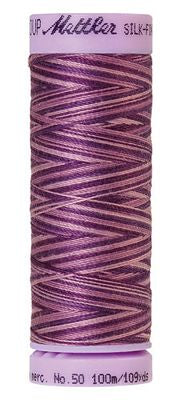 Mettler Silk Finish Cotton Multi 109 YDS - LILAC BOUQUET
