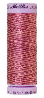 Mettler Silk Finish Cotton Multi 109 YDS - PINK FLOX