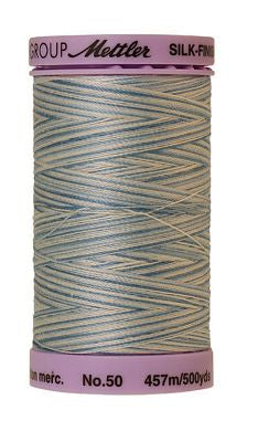 Mettler Silk Finish Cotton Multi 500 YDS - TRANQUIL BLUE