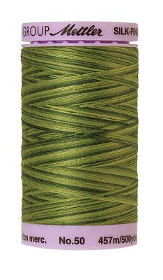 Mettler Silk Finish Cotton Multi 500 YDS - FERNS