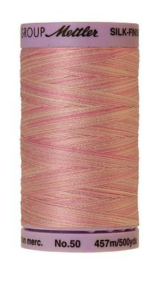 Mettler Silk Finish Cotton Multi 500 YDS - SO SOFT PINK