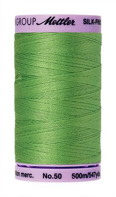 Mettler Silk Finish Cotton 50wt 500m - BRIGHT MINT