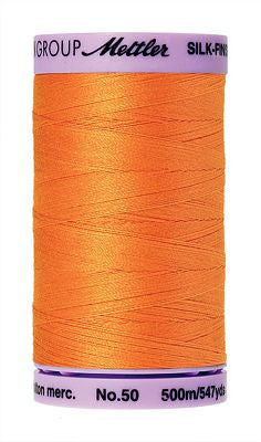 Mettler Silk Finish Cotton 50wt 500m - PUMPKIN