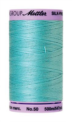 Mettler Silk Finish Cotton 50wt 500m - BLUE CURACAO