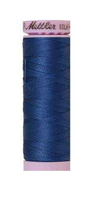 Mettler Silk Finish Cotton 50wt 150m - STEEL BLUE