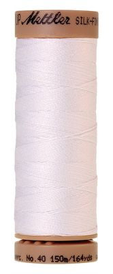 Silk Finish Cotton 164 Yards - White