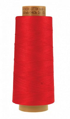 Silk Finish Cotton 1600 Yards- Country Red