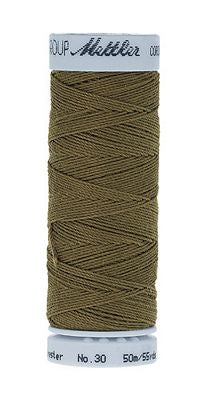 Mettler Cordonnet Poly 55 yards - OLIVE DRAB