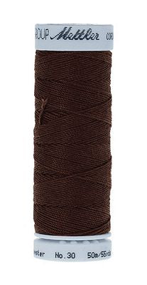 Mettler Cordonnet Poly 55 yards - CHOCOLATE