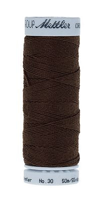 Mettler Cordonnet Poly 55 yards - DARK AMBER