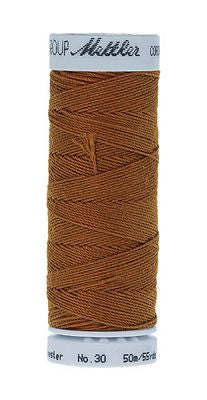 Mettler Cordonnet Poly 55 yards - BRASS
