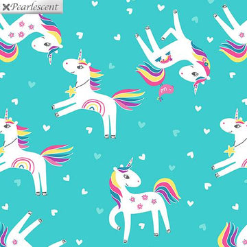 Unicorn Love Medium Aqua