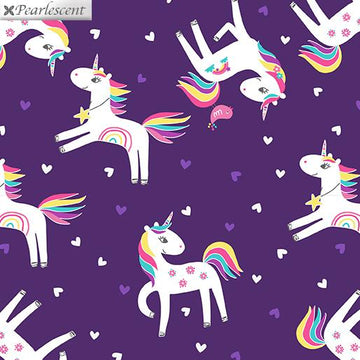Unicorn Love Purple